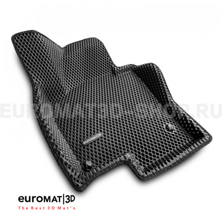 3D коврики Euromat3D EVA в салон для Volkswagen Passat CC (2009-) № EM3DEVA-005412