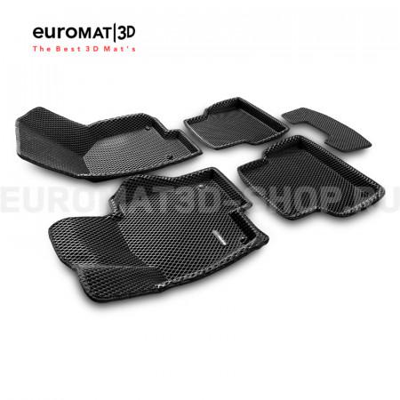 3D коврики Euromat3D EVA в салон для Volkswagen Jetta (2010-2018) № EM3DEVA-005414