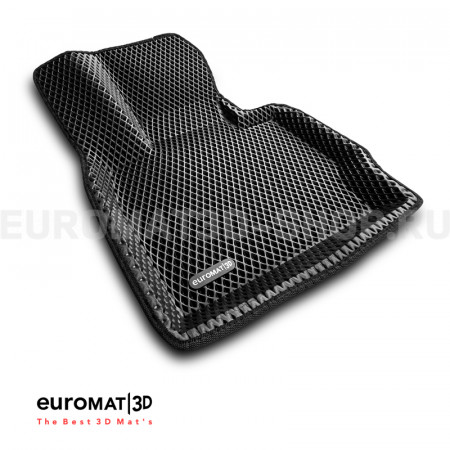3D коврики Euromat3D EVA в салон для Bmw X3 (F25) (2010-2017) № EM3DEVA-001210