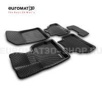 3D коврики Euromat3D EVA в салон для Bmw X4 (F26) (2015-2017) № EM3DEVA-001210