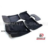 3D коврики Euromat3D EVA в салон для Audi Q7 (2005-2014) № EM3DEVA-001105