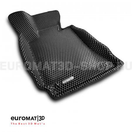 3D коврики Euromat3D EVA в салон для Mercedes C-Class (W204) (2007-2014) № EM3DEVA-003503