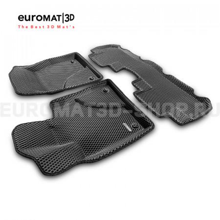 3D коврики Euromat3D EVA в салон для Lexus RX (2016-) № EM3DEVA-003212