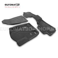 3D коврики Euromat3D EVA в салон для Cadillac Escalade (2015-2021) № EM3DEVA-001306