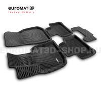 3D коврики Euromat3D EVA в салон для Bmw X4 (G02) (2018-) № EM3DEVA-001222