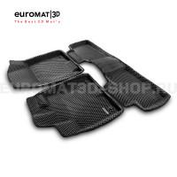 3D коврики Euromat3D EVA в салон для Gac GS-8 325T (2020-) № EM3DEVA-001432