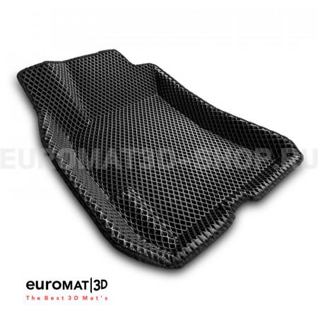 3D коврики Euromat3D EVA в салон для Subaru Outback (2002-2009) № EM3DEVA-004707