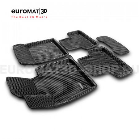 3D Коврики Euromat3D EVA В Салон Для VOLVO S 60 (2019-) № EM3DEVA-005502