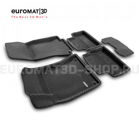 3D коврики Euromat3D EVA в салон для Mercedes CLA-Class (C118) (2019-) № EM3DEVA-003510