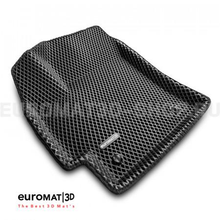 3D коврики Euromat3D EVA в салон для Toyota Corolla (2019-) № EM3DEVA-005106
