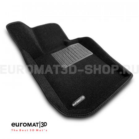 Текстильные 3D коврики Euromat3D Business в салон для Bmw 4 (G22/23) (2020-) № EMC3D-001225