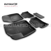 3D коврики Euromat3D EVA в салон для Toyota Prius (XW50) (2015-) № EM3DEVA-005110